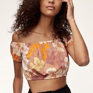 Wilfred Adelisa T-Shirt Roebuck/Citrico NWOT